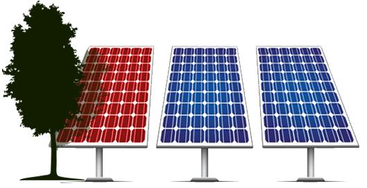 Panel szinten optimalizált napelem