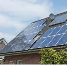 Olyan zavaró tárgyak, mint egy szomszédos ház, közeli fa, egy kiálló objektum a tetőn, vagy egy parapet fal nagyban tudja csökkenteni az energiahozamot.