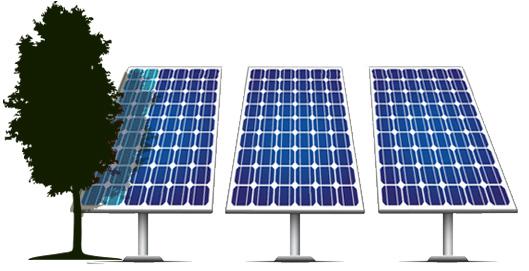 Cellasor optimalizált napelem
