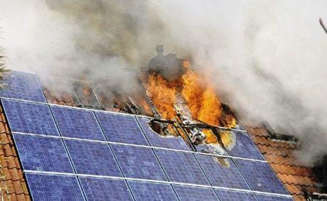Hotspot hatására a napelem akár ki is gyulladhat!