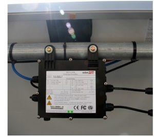 solaredge elektronika tartószerkezeten